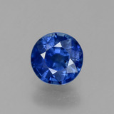 thumb image of 0.6ct Round Facet Blue Sapphire (ID: 382142)