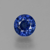 thumb image of 0.6ct Round Facet Blue Sapphire (ID: 382144)