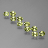 thumb image of 2.3ct Oval Facet Yellowish Green Sapphire (ID: 385982)