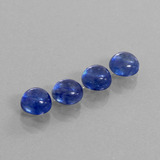 thumb image of 6.3ct Round Cabochon Blue Sapphire (ID: 386482)