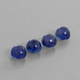 thumb image of 7ct Round Cabochon Blue Sapphire (ID: 386486)