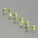 thumb image of 2.2ct Pear Facet Yellowish Green Sapphire (ID: 386612)