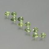 thumb image of 2.3ct Pear Facet Yellowish Green Sapphire (ID: 386615)