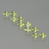 thumb image of 2.4ct Oval Facet Yellowish Green Sapphire (ID: 386617)