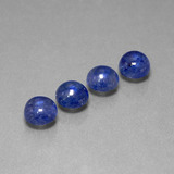 thumb image of 6.4ct Round Cabochon Blue Sapphire (ID: 386718)