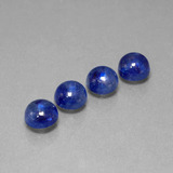 thumb image of 6.3ct Round Cabochon Blue Sapphire (ID: 386720)