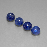 thumb image of 7.4ct Round Cabochon Blue Sapphire (ID: 386721)
