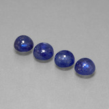 thumb image of 6.2ct Round Cabochon Blue Sapphire (ID: 386726)