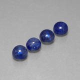 thumb image of 6.8ct Round Cabochon Blue Sapphire (ID: 386727)