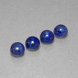 thumb image of 6.5ct Round Cabochon Blue Sapphire (ID: 386729)