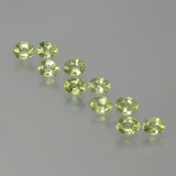 thumb image of 2.4ct Oval Facet Yellowish Green Sapphire (ID: 386735)