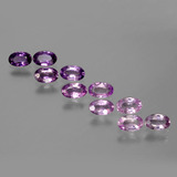 thumb image of 0.3ct Oval Facet Purple Pink Sapphire (ID: 387454)
