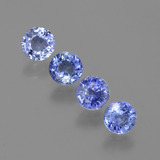 thumb image of 2.1ct Round Facet Blue Sapphire (ID: 387997)