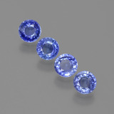 thumb image of 1.7ct Round Facet Blue Sapphire (ID: 388001)