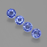 thumb image of 1.8ct Round Facet Blue Sapphire (ID: 388008)
