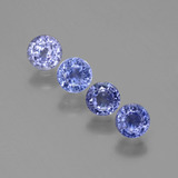 thumb image of 2.2ct Round Facet Blue Sapphire (ID: 388061)