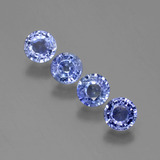 thumb image of 2.2ct Round Facet Blue Sapphire (ID: 388064)
