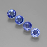 thumb image of 2.2ct Round Facet Blue Sapphire (ID: 388068)