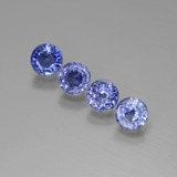 thumb image of 2.4ct Round Facet Blue Sapphire (ID: 388141)