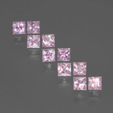thumb image of 1.6ct Princess-Cut Pink Sapphire (ID: 388435)