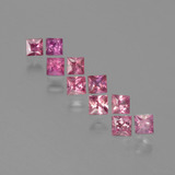 thumb image of 1.1ct Princess-Cut Rose Pink Sapphire (ID: 388571)