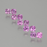 thumb image of 2.3ct Octagon Facet Purple Pink Sapphire (ID: 388611)