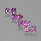 thumb image of 2.9ct Octagon Facet Purple Pink Sapphire (ID: 388617)