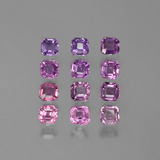 thumb image of 3.2ct Octagon Facet Purple Pink Sapphire (ID: 388619)