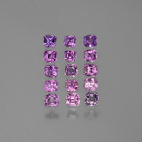 thumb image of 2.2ct Octagon Facet Purple Pink Sapphire (ID: 388624)