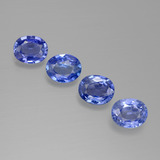 thumb image of 2.5ct Oval Facet Blue Sapphire (ID: 389580)