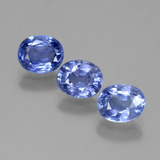 thumb image of 2.4ct Oval Facet Blue Sapphire (ID: 389581)