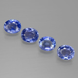 thumb image of 2.8ct Oval Facet Blue Sapphire (ID: 389584)