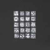 thumb image of 1.3ct Princess-Cut White Sapphire (ID: 391196)