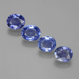 thumb image of 3.2ct Oval Facet Blue Sapphire (ID: 396994)