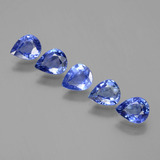 thumb image of 2.9ct Pear Facet Blue Sapphire (ID: 397000)