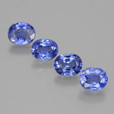 thumb image of 3.2ct Oval Facet Blue Sapphire (ID: 397139)