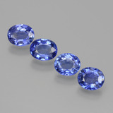 thumb image of 2.8ct Oval Facet Blue Sapphire (ID: 397140)