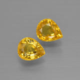 thumb image of 1.5ct Pear Facet Yellow Golden Sapphire (ID: 399933)