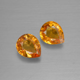 thumb image of 0.7ct Pear Facet Yellow Golden Sapphire (ID: 399934)