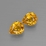thumb image of 1.3ct Pear Facet Yellow Golden Sapphire (ID: 399938)