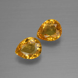 thumb image of 1.4ct Pear Facet Yellow Golden Sapphire (ID: 399939)