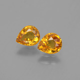 thumb image of 1.3ct Pear Facet Yellow Golden Sapphire (ID: 399980)