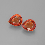 thumb image of 1.4ct Pear Facet Red Orange Sapphire (ID: 399985)
