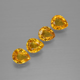 thumb image of 2.8ct Pear Facet Yellow Golden Sapphire (ID: 400007)
