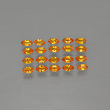 thumb image of 3.9ct Marquise Facet Yellow Orange Sapphire (ID: 401225)