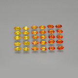 thumb image of 5.3ct Marquise Facet Yellow Golden Sapphire (ID: 401282)