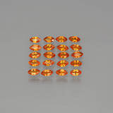 thumb image of 3.8ct Marquise Facet Orange Sapphire (ID: 401405)