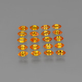 thumb image of 4.5ct Marquise Facet Orange Sapphire (ID: 401459)