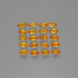 thumb image of 3.7ct Marquise Facet Orange Sapphire (ID: 401463)