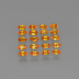 thumb image of 4.4ct Marquise Facet Yellow Orange Sapphire (ID: 401494)